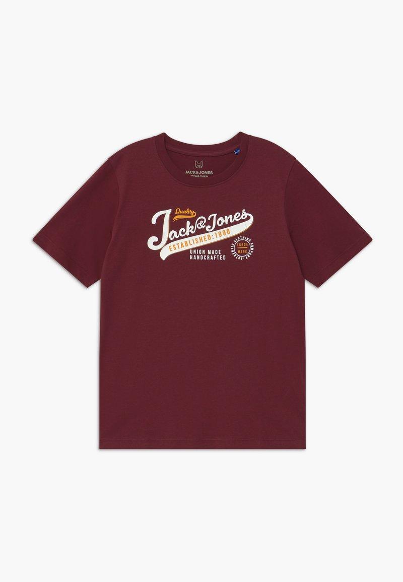 Jack & Jones Junior - JJELOGO - Print T-shirt - port royale