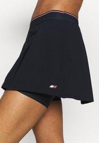 Tommy Hilfiger - REGULAR SKORT - Sports skirt - blue - 4