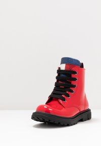 Tommy Hilfiger - Lace-up ankle boots - red - 2