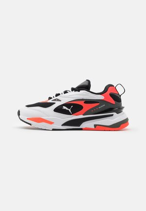 RS-FAST UNISEX - Trainers - black/white/red blast