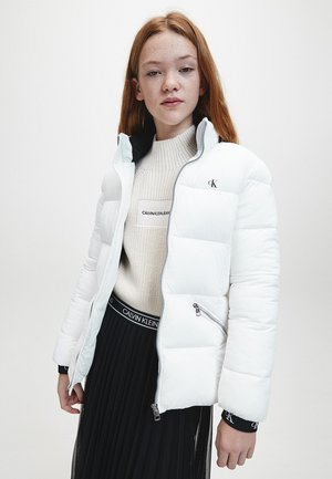 STRETCH PUFFER - Winter jacket - bright white