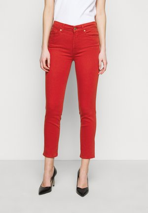 ROXANNE ANKLE BAIR FLAME - Jeans Skinny Fit - red