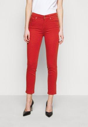 ROXANNE ANKLE BAIR FLAME - Skinny džíny - red
