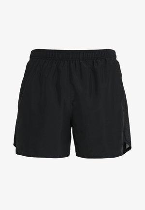 CHALLENGER SHORT - Sportovní kraťasy - black/silver