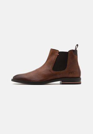 SIGNATURE CHELSEA - Bottines - winter cognac