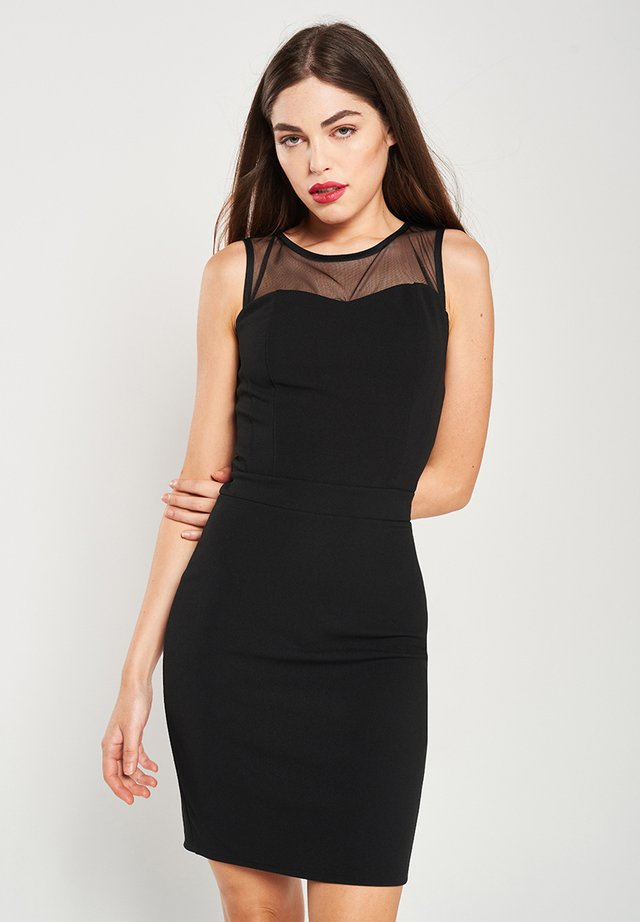 DALE - Shift dress - black