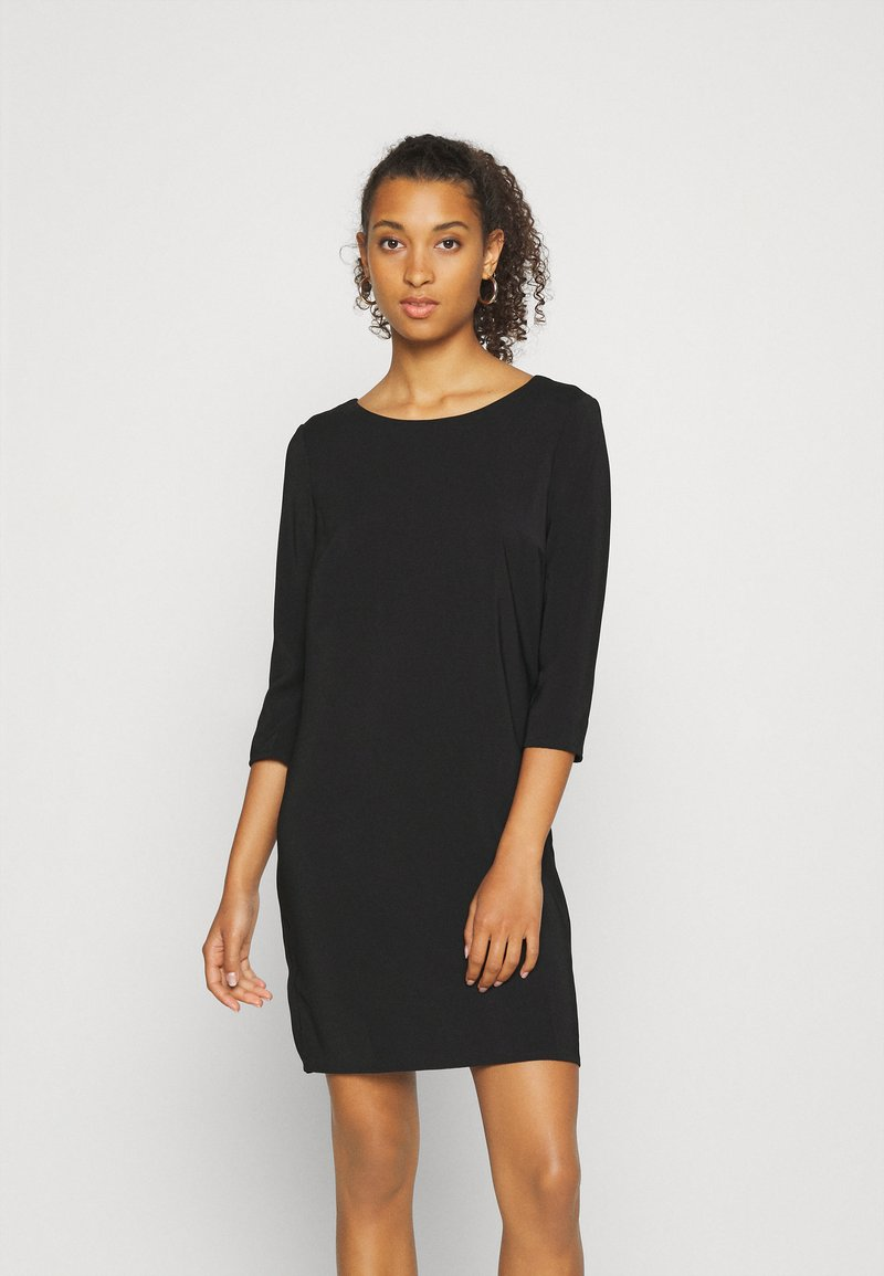 Vila - VILAIA TINNY DRESS - Day dress - black