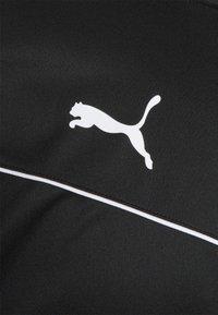 Puma - TEAMRISE - Verryttelytakki - black/white - 4