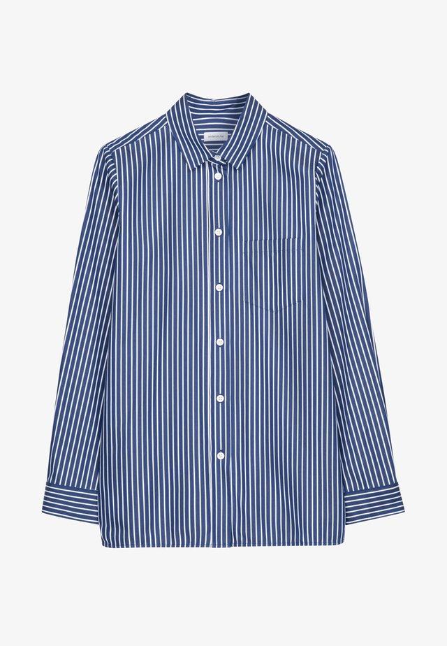 SCHWARZE ROSE - Shirt - blau