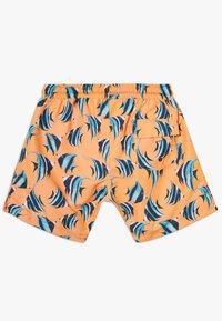 Sunuva - BOYS FISH SWIM - Szorty kąpielowe - neon orange - 1