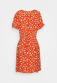 Madewell - COVERED BUTTON RETRO MINI - Day dress - thai chili - 1