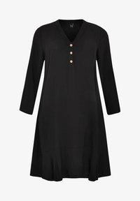 Yoek - Day dress - black - 4