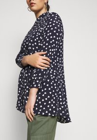Evans - WITH HEART - Button-down blouse - navy - 5