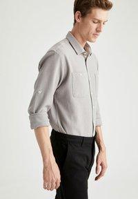DeFacto - Formal shirt - grey - 3