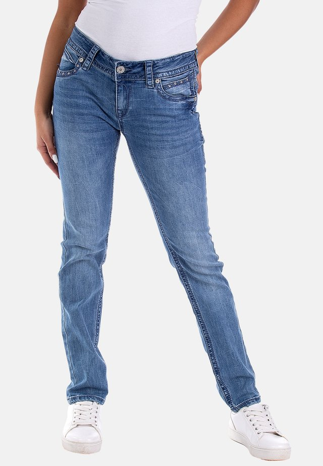STACY - Slim fit jeans - blau