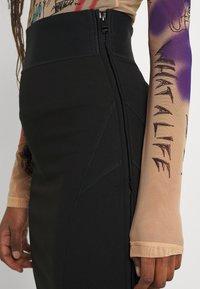 Diesel - O-BAND - Pencil skirt - black - 4