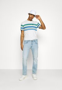 Lee - DAREN ZIP FLY - Jeans straight leg - bleached dale - 1