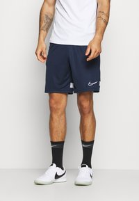 Nike Performance - ACADEMY SHORT - Pantaloncini sportivi - obsidian/white - 0