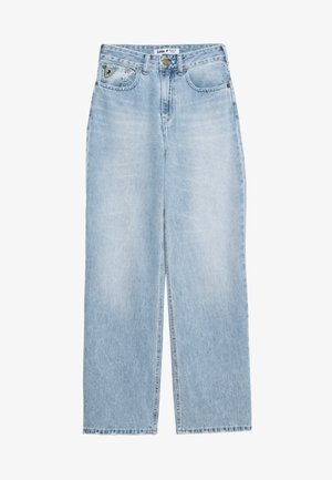 WIDE - Relaxed fit jeans - stone