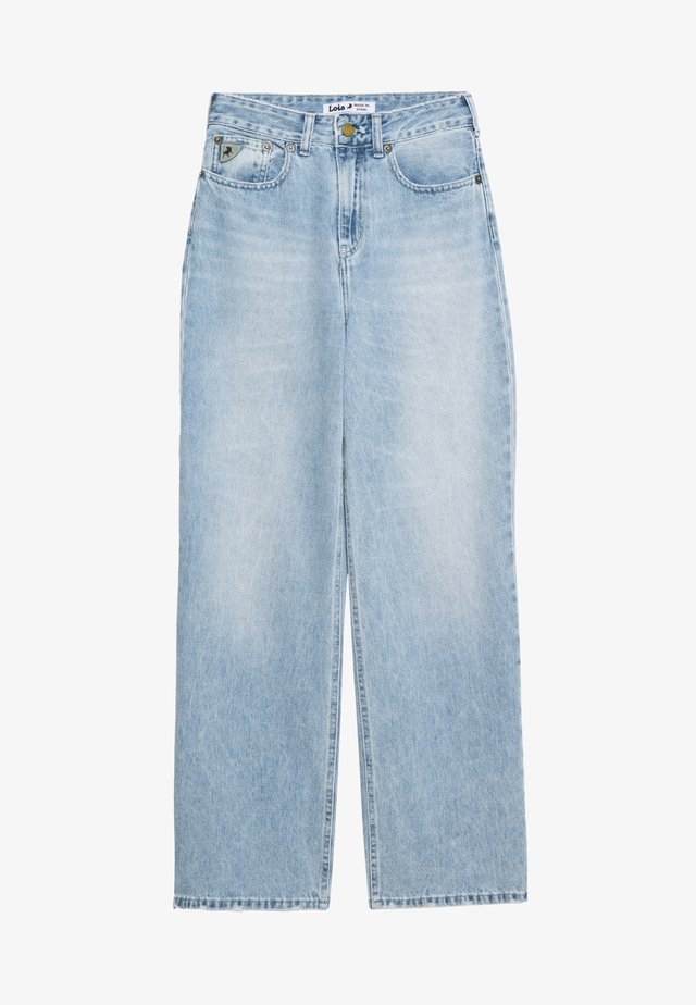 WIDE - Jeans baggy - stone