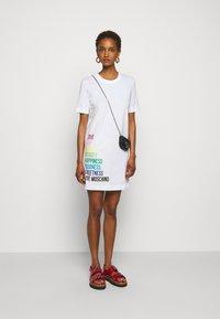 Love Moschino - Jersey dress - optical white - 1