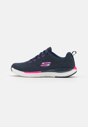ULTRA GROOVE - Trainers - navy/hot pink