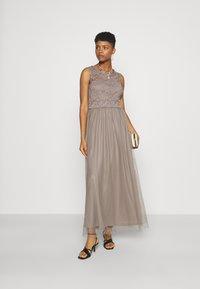 Vila - VILYNNEA MAXI DRESS - Occasion wear - fungi - 1
