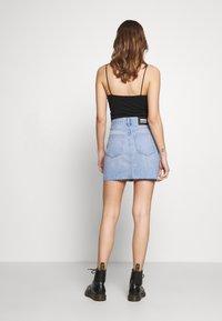 Dr.Denim - MALLORY SKIRT - Denim skirt - destiny blue - 2