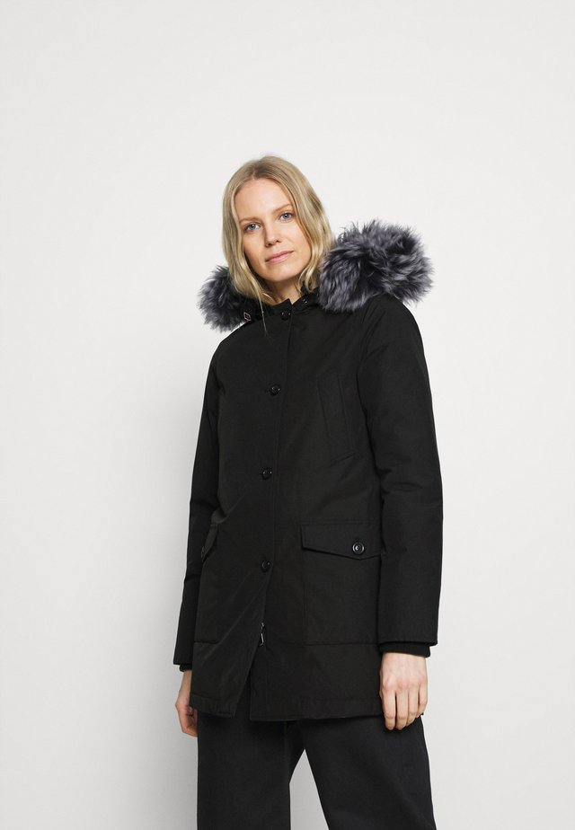 LINDSAY  - Down coat - black