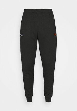 BERTONI TRACK PANT - Verryttelyhousut - black