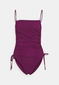 ANDREA IYAMAH - ADAN SWIMSUIT - Plavky - purple - 3