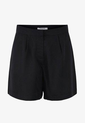 MID WAIST - Shorts - black