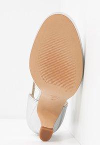 LAB - Classic heels - galaxy silver - 6