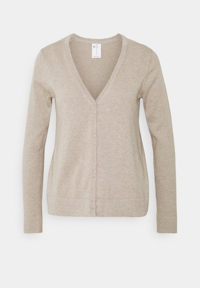 LOREN CARDIGAN - Kardigan - birch grey