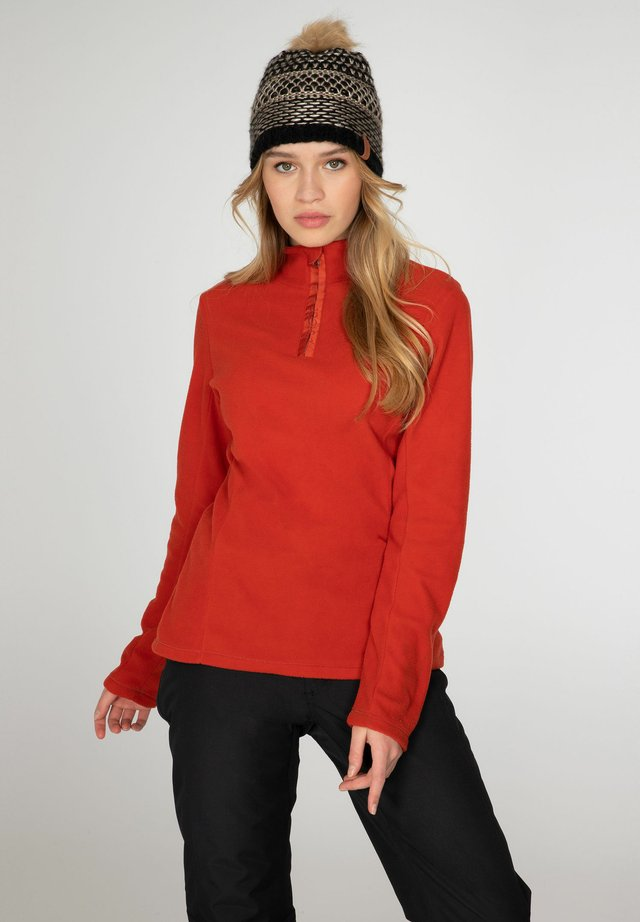 MUTEZ - Sweat polaire - red