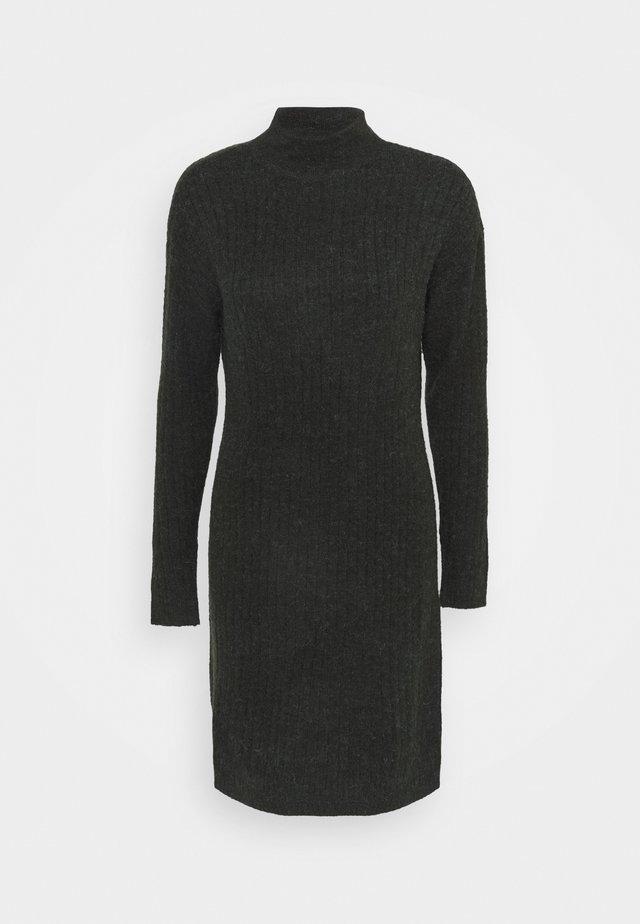 ONLMEKIA DRESS - Strikket kjole - rosin/melange