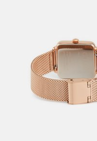 Cluse - LA TETRAGONE - Hodinky - rose gold-coloured/white - 1