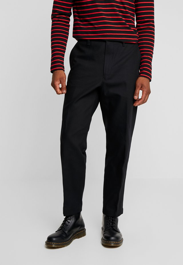 P-JOSH-L TROUSERS - Chino - black