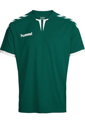 CORE SS  - T-shirt med print - evergreen pr