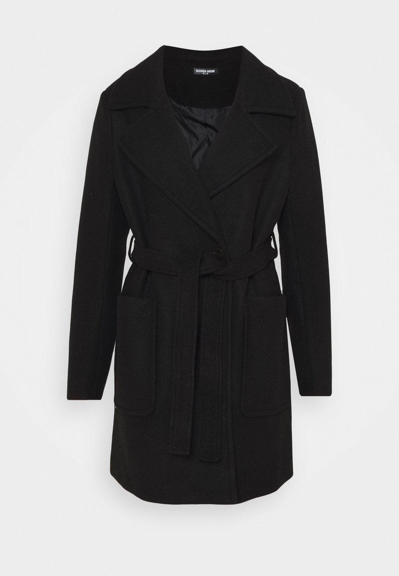 Fashion Union - BOXER - Classic coat - black