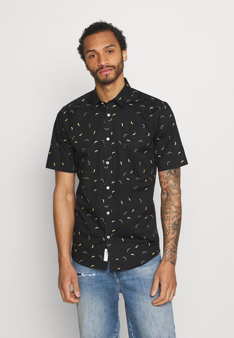 Only & Sons - ONSBART LIFE STRETCH SHIRT - Shirt - black