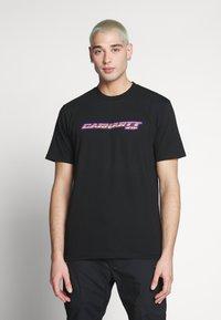 Carhartt WIP - SPORT SCRIPT - T-shirt med print - black - 0