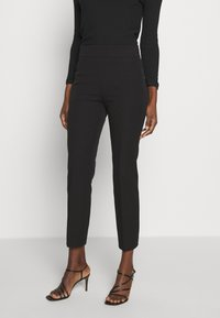 J.CREW - GEORGIE PANT - Spodnie materiałowe - black - 0