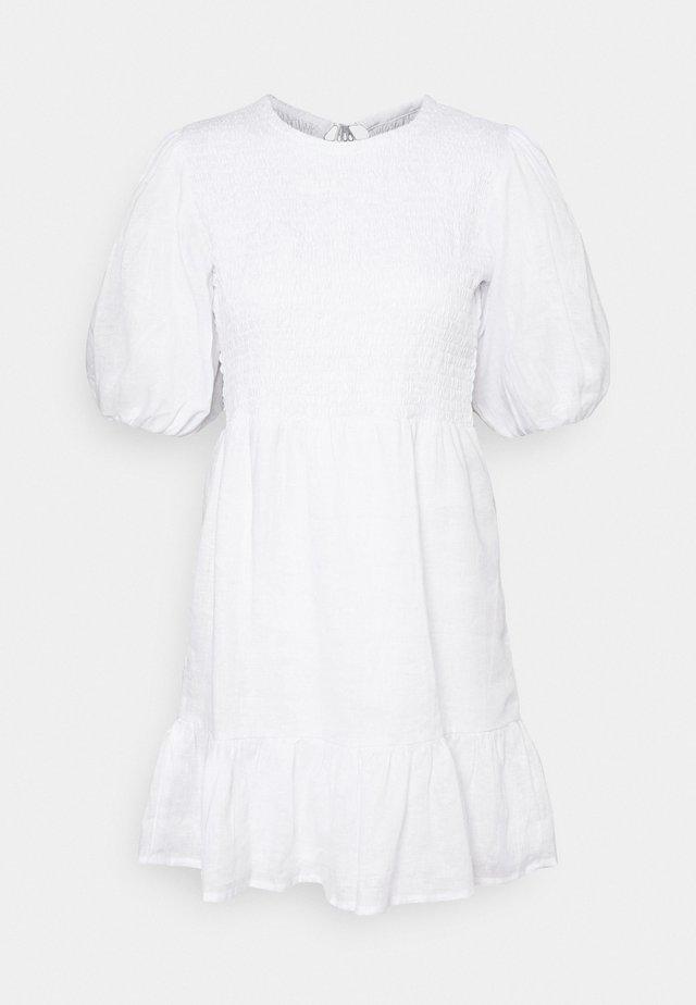 LORICA DRESS - Vardagsklänning - plain white