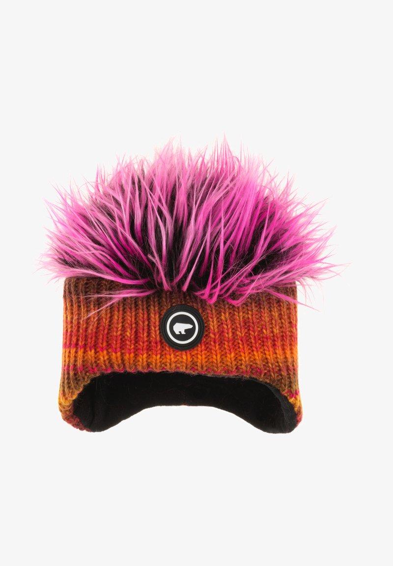 Eisbär - Mütze - orange