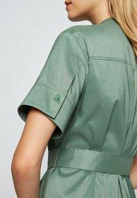 BOSS - DASHILA - Abito a camicia - light green - 4