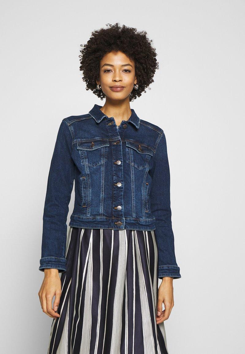 Q/S designed by - Denim jacket - blue denim