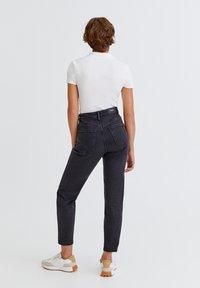 PULL&BEAR - Slim fit jeans - mottled black - 2