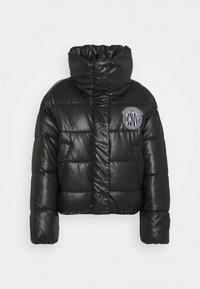 DKNY - SHORT PUFFER - Training jacket - black - 0