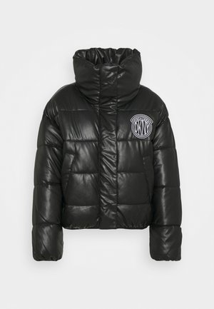 SHORT PUFFER - Training jacket - black